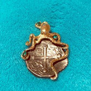 Jewelry - Treasure Coin. AUTHENTIC 1928  Shipwreck